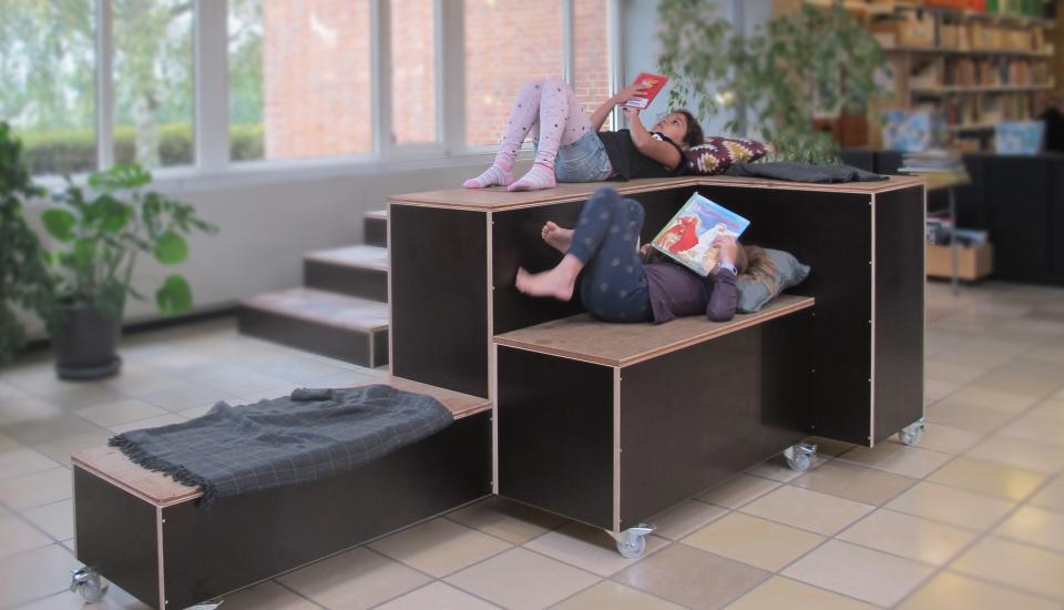 Multimøbel - møblet er åbent for brugernes fortolkning og kan ændre funktion efter behov